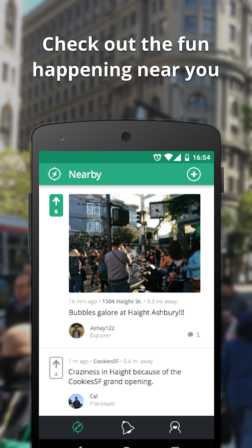 Spark - Discover Nearby- screenshot