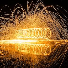 steel-wool by Uzair RIaz - Abstract Fire & Fireworks ( uzairriaz, karachi, steelwool, uzairriazphotography,  )