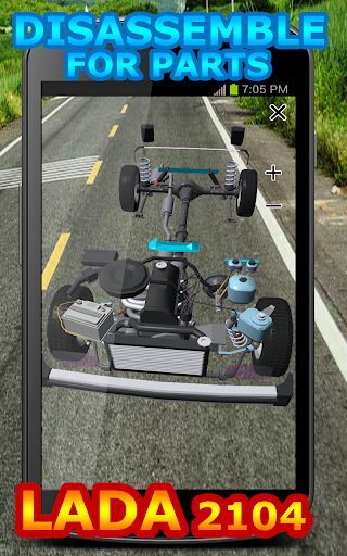 Disassemble Parts LADA 2104