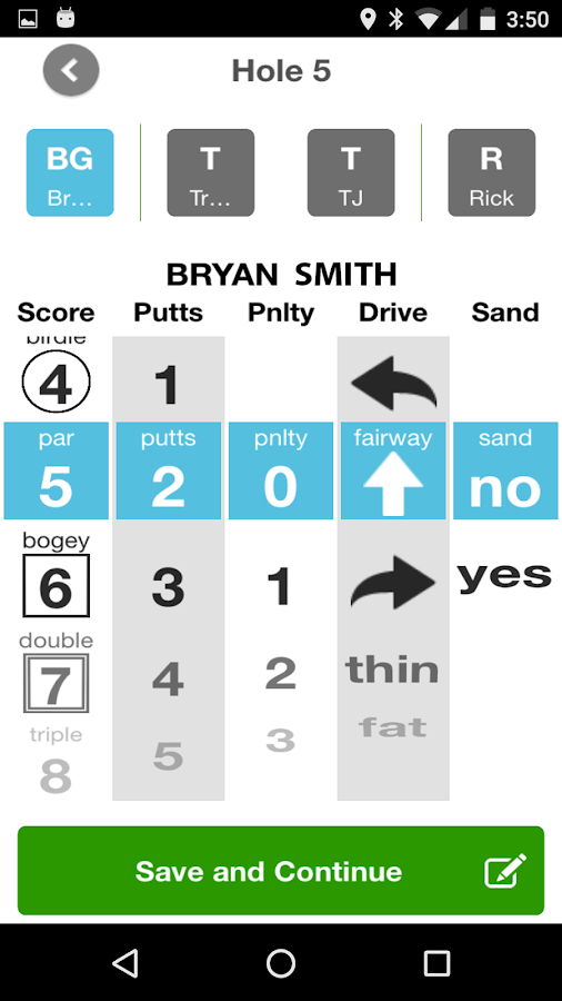 Golf GPS Rangefinder & Scoring- screenshot