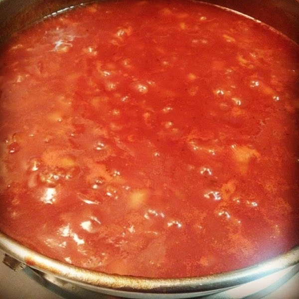 From Instagram: BBQ! SAUCE! From scratch, it's coming along, BAM! http://instagram.com/p/kK-mSfMXX3/
