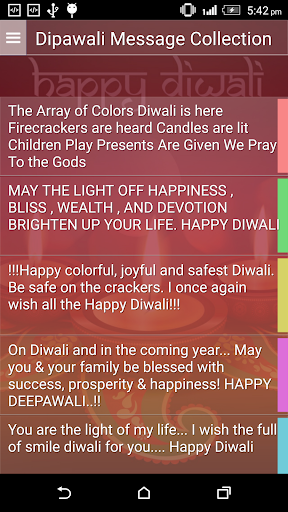 Dipawali Message Collection