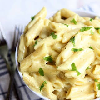 Creamy Garlic Butter Pasta.