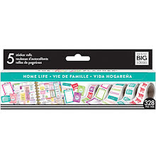 Me & My Big Ideas Happy Planner Sticker Roll - Home Life