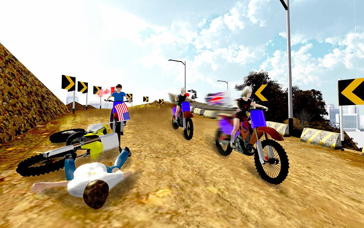 Kids Motorbike Offroad Rider- screenshot