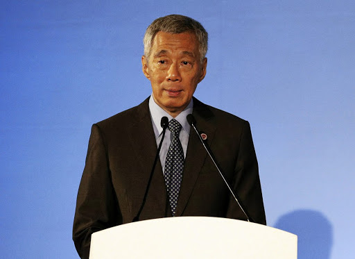 Singapore's Prime Minister Lee Hsien Loong addresses the opening ceremony of the 51st Asean foreign ministers' meeting in Singapore on August 2 2018. Picture: REUTERS