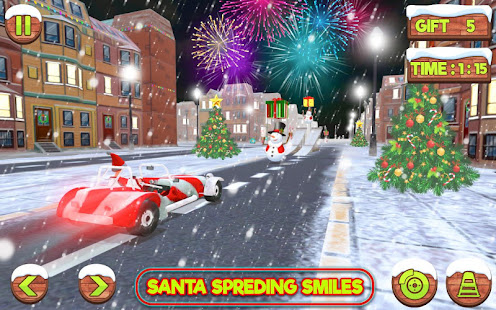 Santa Claus Stunt Car Christmas Gift Delivery for PC-Windows 7,8,10 and Mac apk screenshot 6
