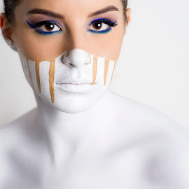 by Antonio Stipinovic - People Fashion ( makeup, close up, woman, white )