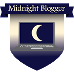 Button Midnight Blogger