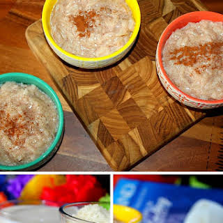 Simple Rice Pudding.