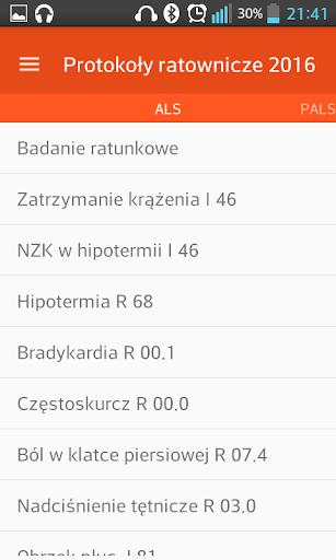 Ratownictwo medyczne algorytmy  screenshots 1
