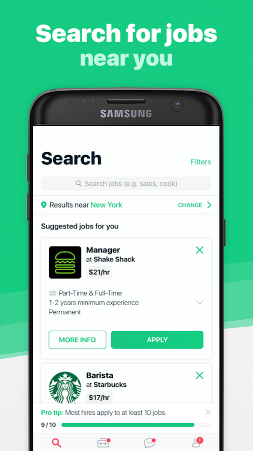 Merlin NY: Find Job & Career Listings In New York- screenshot