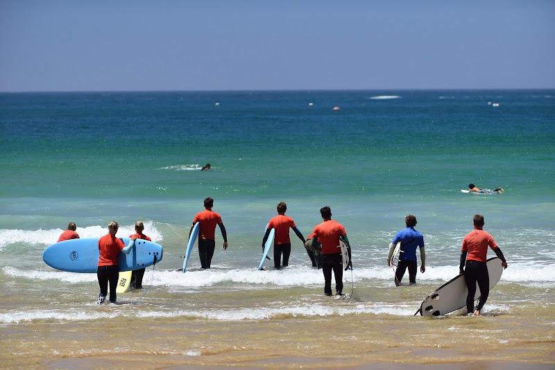 Surfers first lesson di Matteo Faliero
