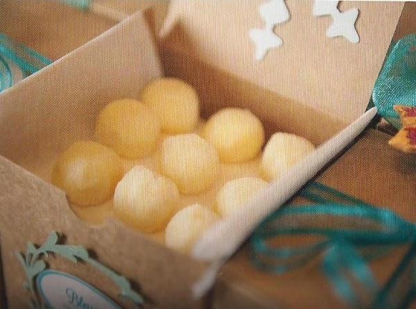 White Chocolate Lemon Truffles Recipe