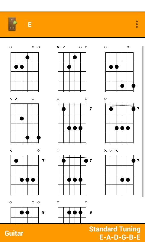 Fretter Lite - Chords- screenshot