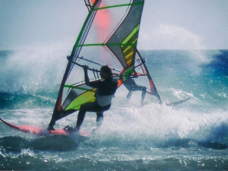gli anni del windsurf di Phuckoff
