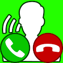 fake call with real voice icon