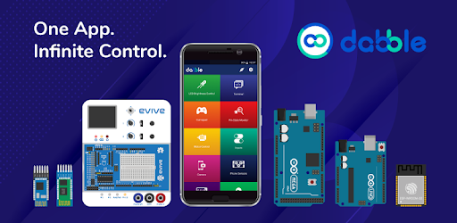 Dabble - Bluetooth controller for Arduino & ESP32 – Google