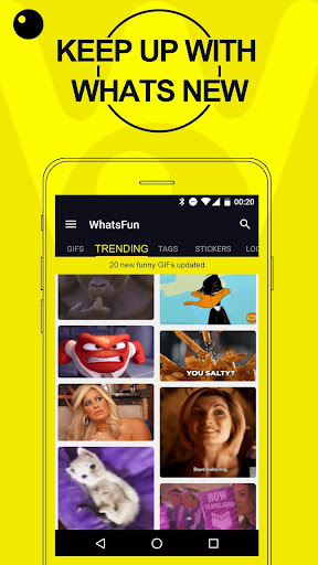 WhatsFun - GIFs, Emoji, Stickers - screenshot