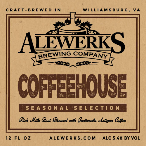 Logo of Alewerks Coffeehouse