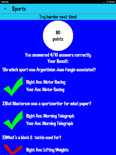 5000+ Trivia Games & Quizzes 2.0 screenshots 10