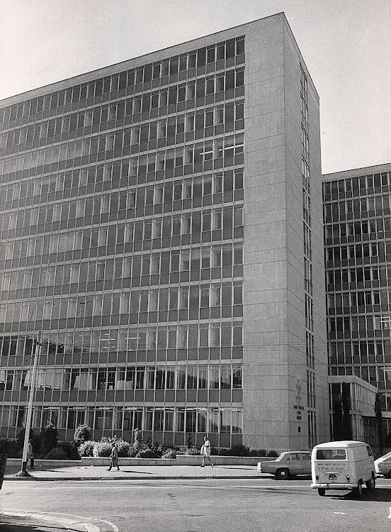 The infamous John Vorster Square, now known as Johannesburg Central Police Station, where numerous anti-apartheid activists were tortured and murdered.