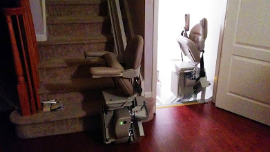 Photo: Bruno Curved Stairlifts NJ