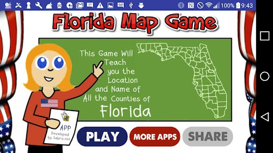 florida map game