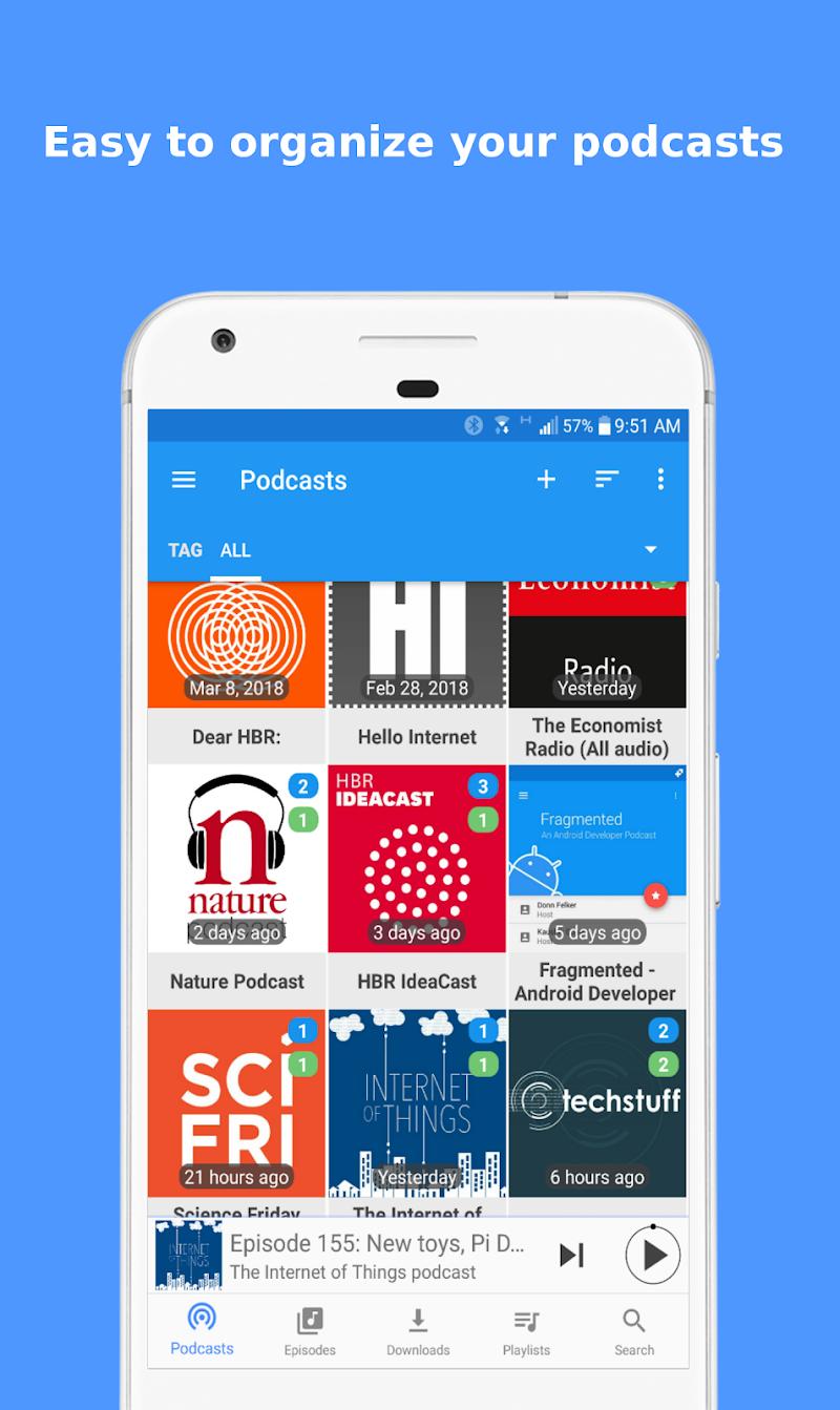 Podcast Republic - Podcast Player & Podcast App Screenshot