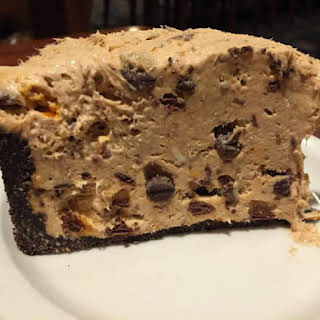 Butterfinger Cheesecake.