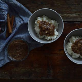 Rice Porridge With Chia Seeds Pear Jam