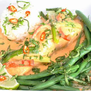 Thai Salmon Curry.
