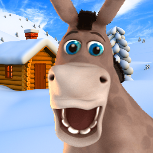 Talking Donald Donkey Ice Fun Icon