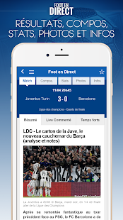Foot en Direct- screenshot thumbnail