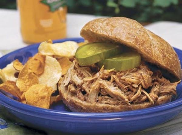 Slow Cooker Mustard Barbecued Pork Recipe