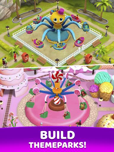 Fun Town: Build theme parks & play match 3 games screenshots 9