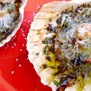 Baked Scallops.