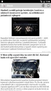 České noviny a časopisy - náhled