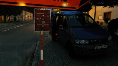 Photo: Sedmé stanoviště, Sloup - 71 km