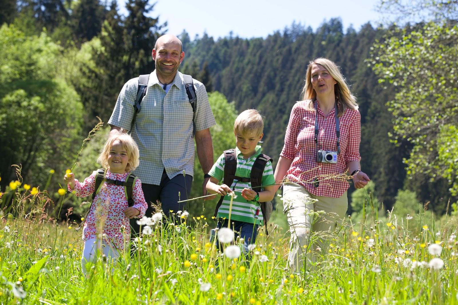 Educatieve routes  im Schwarzwald