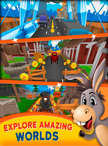 Farm Escape Runner ud83dudc2e 4.1 screenshots 4