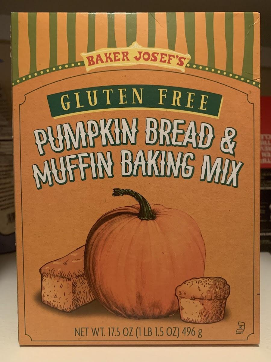 Pumpkin Bread & Muffin Baking Mix