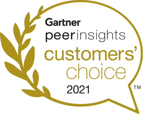 Gartner Peer Insights Customer's Choice 2021