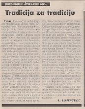 Photo: Glas Istre 19.08. 2002  Stinjanska noć