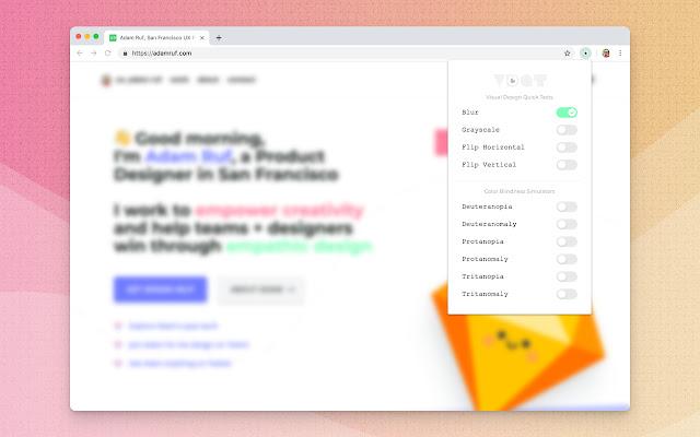 Visual Design Quick Tests