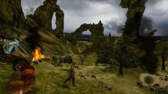 Horská sniperka: 3D FPS mise - náhled