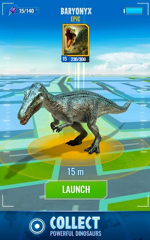 Jurassic World Alive screenshot for Android