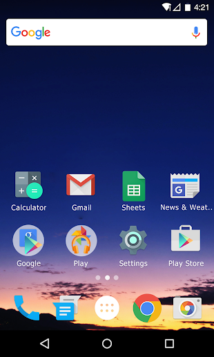 M Launcher Pro-Marshmallow M- screenshot thumbnail