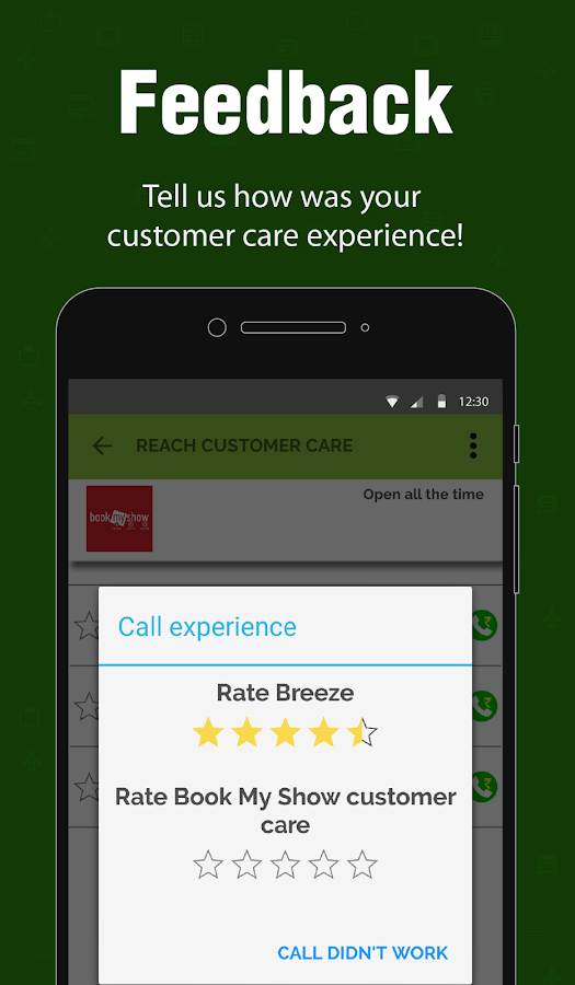 Direct Customer Care Number, Fast Customer Service- screenshot