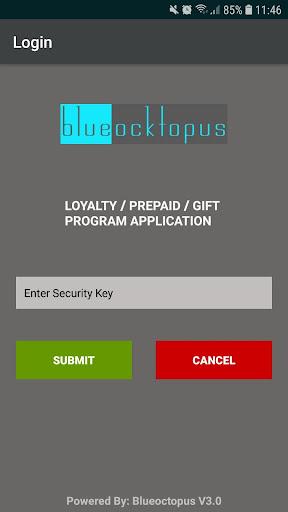 Blue Ocktopus V3- Retail Loyalty screenshot 1